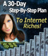 30-Day, Step-By-Step, Plan to Internet Success