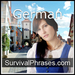 Learn German - Survival Phrases - German  (Part 1)