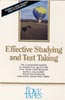 Effective Studying and Test Taking